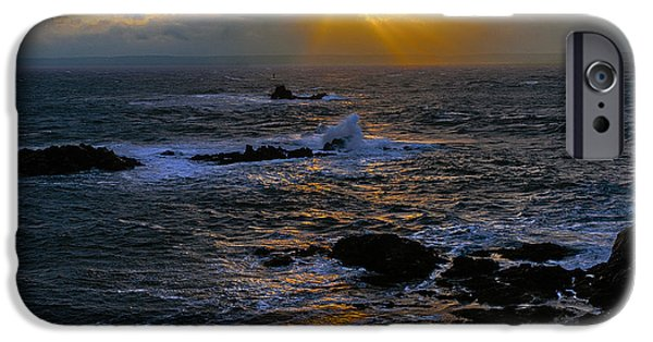 Sail Rock Sunrise IPhone Case by Marty Saccone