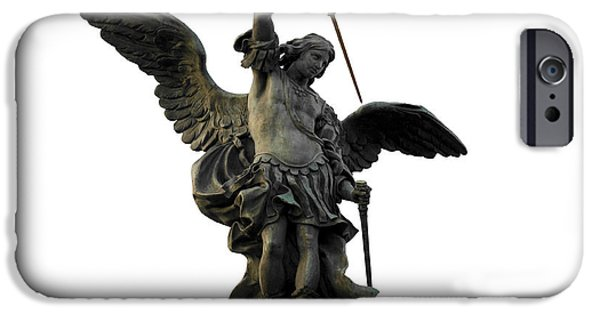 Saint Michael IPhone Case by Fabrizio Troiani