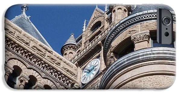 Salt Lake City - City Hall - 1 IPhone Case by Ely Arsha