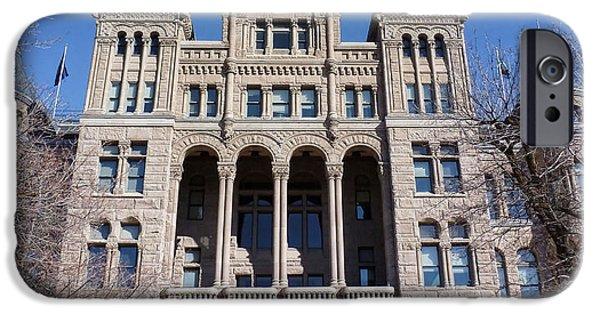 Salt Lake City - City Hall - 2 IPhone Case by Ely Arsha