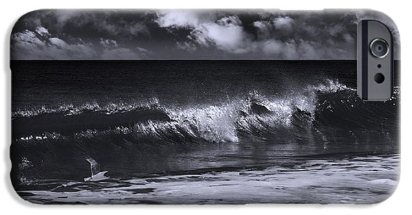 Salt Life Morning Bw IPhone Case by Laura Fasulo
