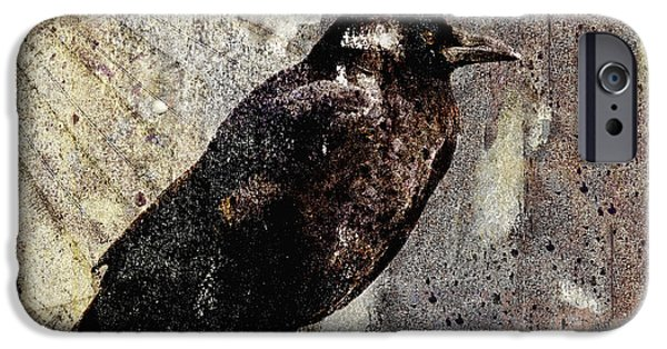 Same Crow Different Day IPhone 6s Case by Carol Leigh