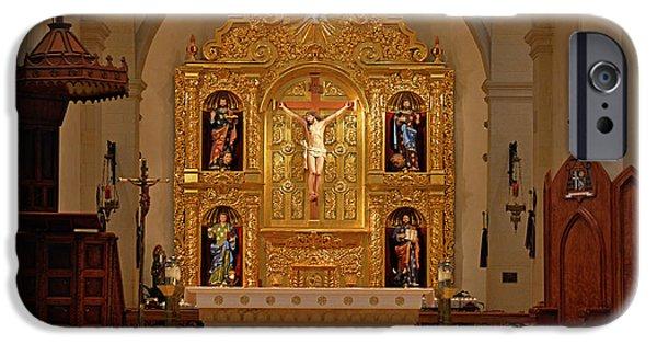 San Fernando Cathedral Retablo IPhone Case by Christine Till