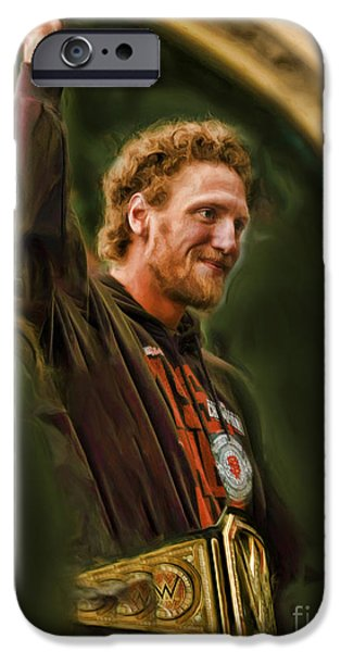 San Fransco Gaints Hunter Pence IPhone Case by Blake Richards