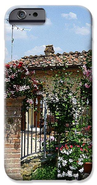 San Gimignano Beauty Of Tuscany  IPhone Case by Irina Sztukowski