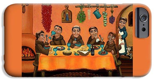 San Pascuals Table IPhone Case by Victoria De Almeida