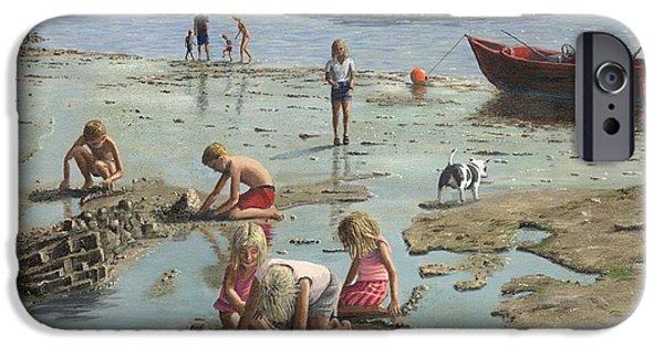 Sandcastles IPhone Case by Richard Harpum