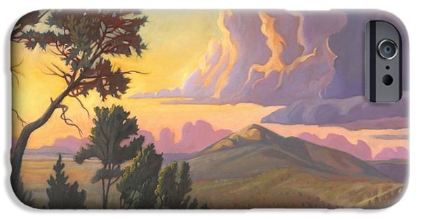 Santa Fe Baldy - Detail IPhone Case by Art James West