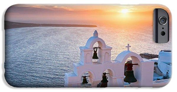 Santorini Sunset IPhone Case by Evgeni Dinev