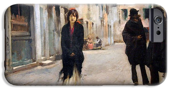 Sargent's Street In Venice IPhone Case by Cora Wandel