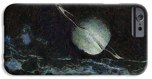 Saturn-y IPhone Case by Ayse Deniz