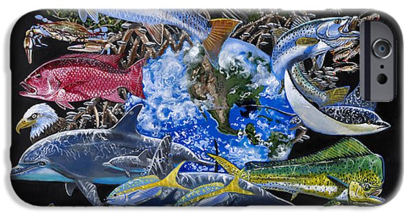 Save Our Seas In008 IPhone Case by Carey Chen