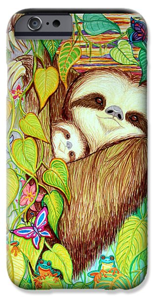 Save The Rain Forests IPhone Case by Nick Gustafson