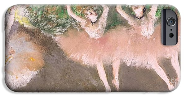 Scene De Ballet IPhone Case by Edgar Degas