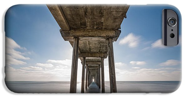Scripps Pier Long Exposure IPhone Case by Michael Ver Sprill