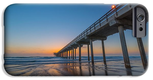 Scripps Pier IPhone Case by Michael Ver Sprill
