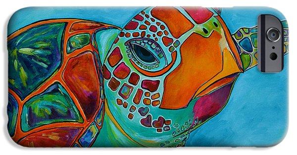 Seaglass Sea Turtle IPhone 6s Case by Patti Schermerhorn