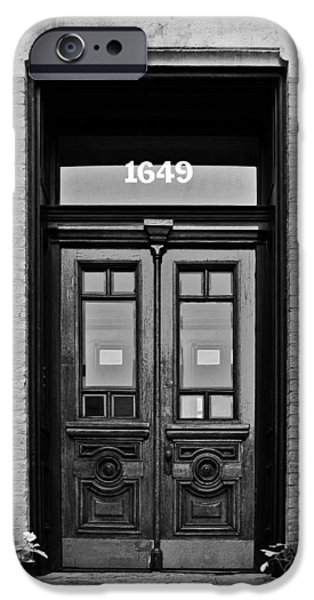 Sedgwick Street Old Town Chicago IPhone Case by Christine Till