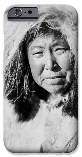 Selawik Indian Woman Circa 1929 IPhone Case by Aged Pixel