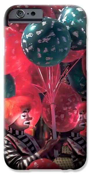 Send In The Clowns IPhone 6s Case by Karen Wiles
