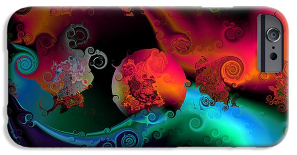 Seperation And Individuation IPhone Case by Claude McCoy