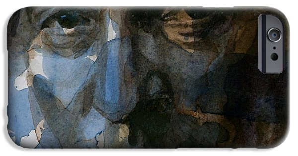 Shackled And Drawn IPhone Case by Paul Lovering