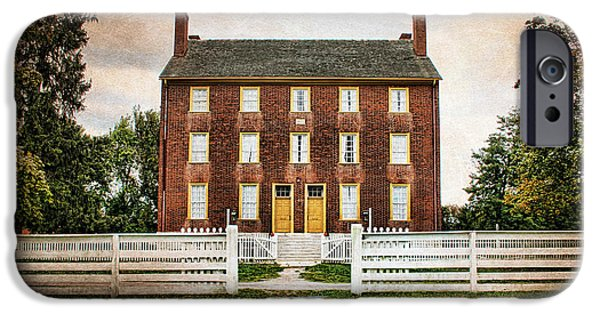 Shaker Village  IPhone Case by Darren Fisher