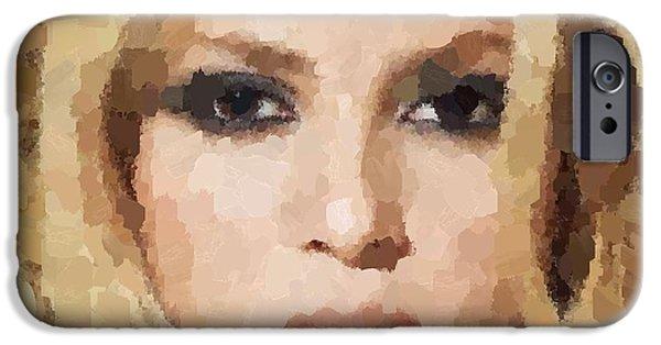Shakira Portrait IPhone 6s Case by Samuel Majcen