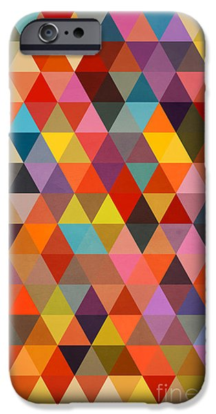 Shapes IPhone 6s Case by Mark Ashkenazi
