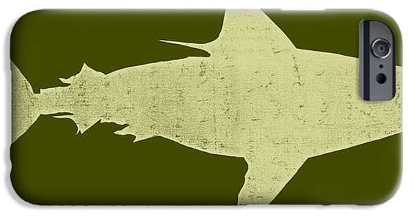 Shark IPhone Case by Michelle Calkins