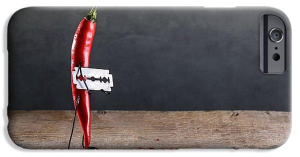 Sharp Chili IPhone Case by Nailia Schwarz