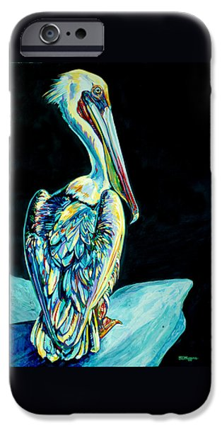 Shelter Island Pelican IPhone Case by Derrick Higgins