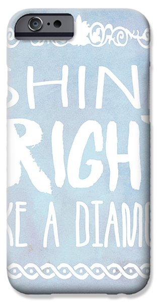Shine Bright Blue IPhone 6s Case by Pati Photography