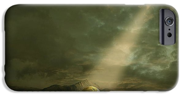 Shining IPhone Case by Franziskus Pfleghart