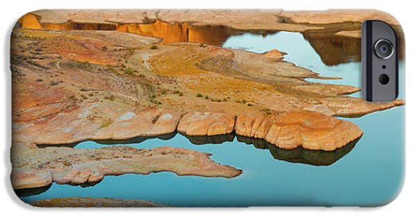 Shoreline Of Lake Powell Seen IPhone Case by Panoramic Images
