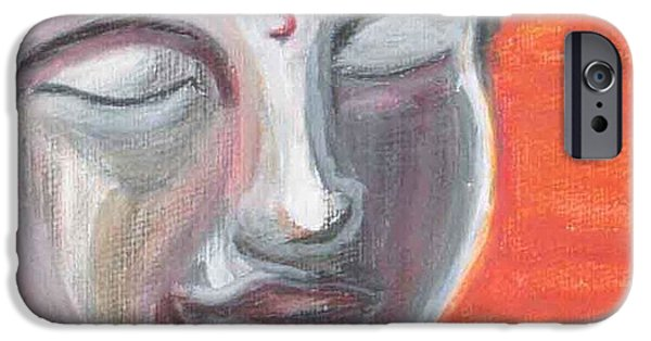 Siddharta IPhone Case by Michelle Foster