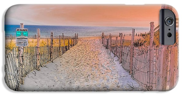 Sideside Heights Sunset IPhone Case by Gary Keesler