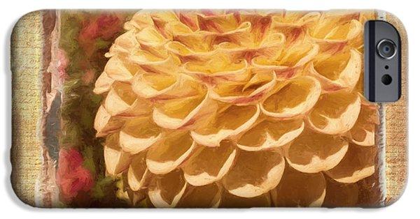 Simply Moments - Flower Art IPhone Case by Jordan Blackstone