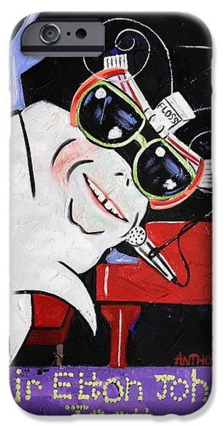 Sir Elton John Tooth  IPhone 6s Case by Anthony Falbo