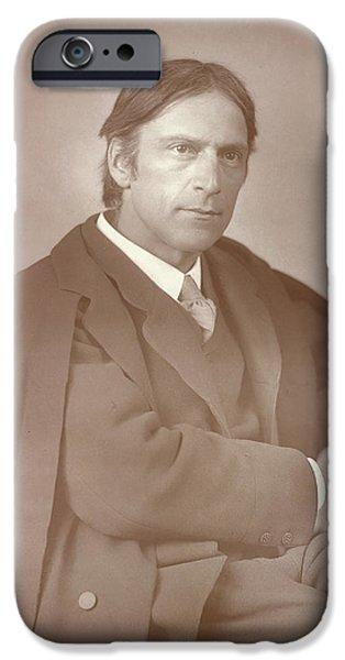 Sir Hubert Von Herkomer IPhone Case by British Library