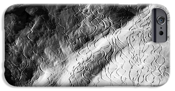 Ski Traces IPhone Case by Frank Tschakert