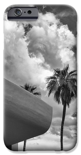 Sky-ward Palm Springs IPhone Case by William Dey