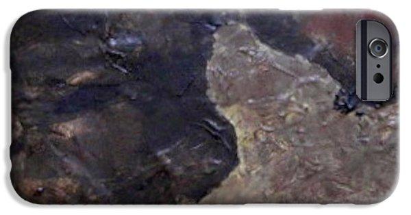 Tile No. 3 IPhone Case by Jim Ellis