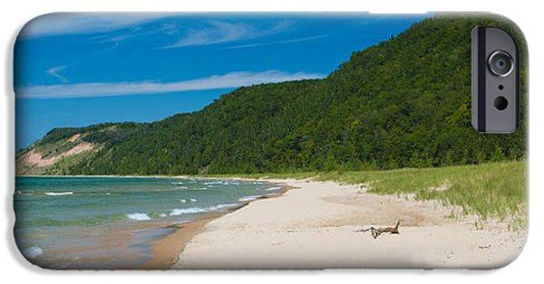 Sleeping Bear Dunes National Lakeshore IPhone Case by Sebastian Musial