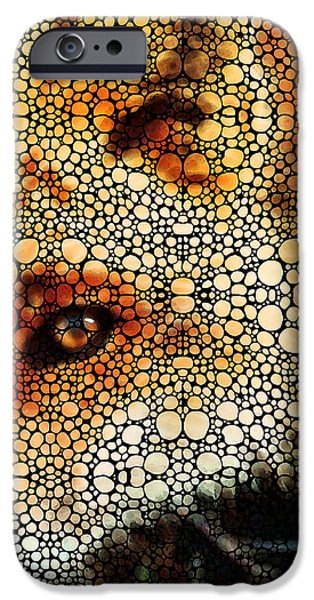 Sly Fox - Mosaic Art By Sharon Cummings IPhone 6s Case by Sharon Cummings