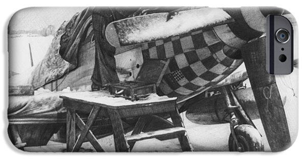 Slybird Winter IPhone Case by Wade Meyers