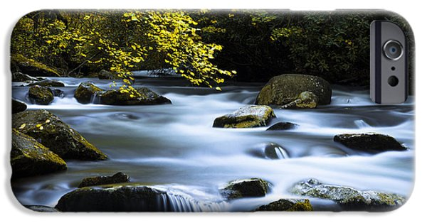 Smoky Stream IPhone Case by Chad Dutson