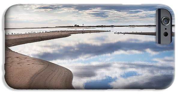 Smooth Water Reflections IPhone Case by Bill Wakeley
