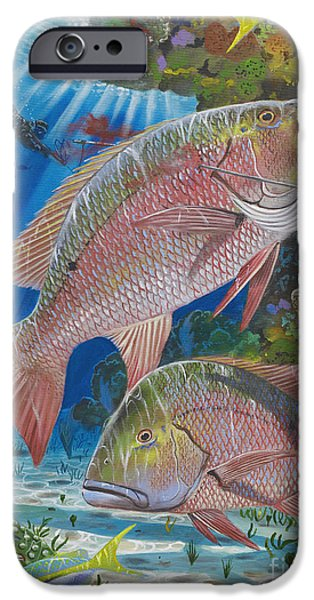 Snapper Spear IPhone Case by Carey Chen