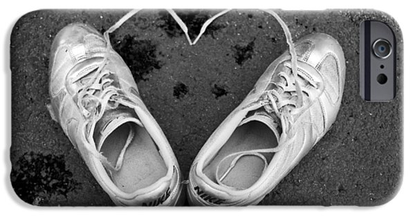 Sneaker Heart IPhone Case by Pat Bourque